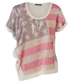 Stars and Stripes top.