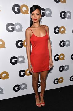 Calvin Klein at the 2012 GQ Men of the Year Party - Style Crush: Rihanna on the Red Carpet - Photos