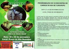 Festas de Carros de Boi: Encontro de Carro de Boi de Cururupu - MA