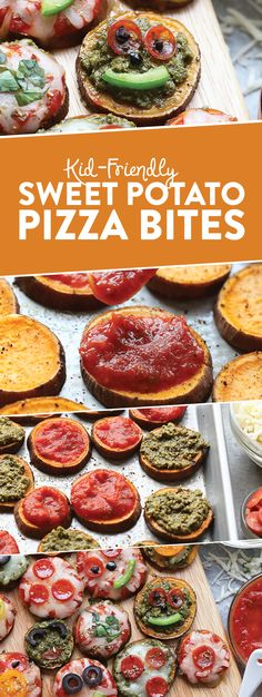 VIDEO: Kid-Friendly Sweet Potato Pizza Bites - Fit Foodie Finds