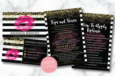 Lipsense business card bundle tips and tricks application