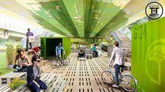 Um grupo de seis jovens arquitetos sob a liderança de Renzo Piano tem se dedicado atransformar espaços ociososnos s...