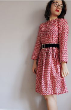 Flower dress / Robe fleurie