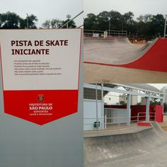 Vale a pena conhecer o pq de esportes radicais! #skate #skatedosonhos