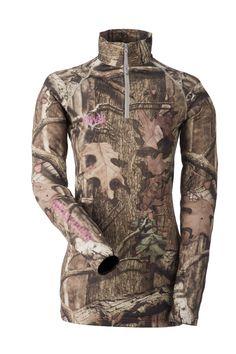 NEW 2014 GWG Mossy Oak Hunting Line: GWG Base Layer Long Sleeve Shirt