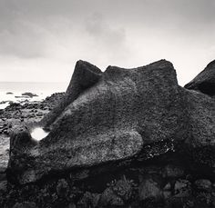 "de-salva: "" Moai - Study 42 (Ahu One Makihi, Easter Island, © Michael Kenna "" Zeus Children, Moving To San Francisco, Black And White Landscape, Black White, Easter Island, Art Direction, Photo Art, Water, White Photography"
