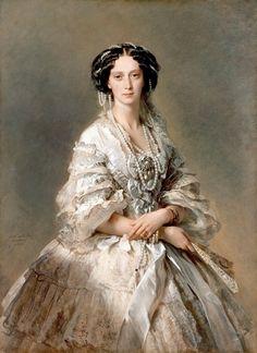 Императрица Мария Александровна. Франц Ксавьер Винтерхальтер