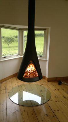 Small Contemporary Wood Stoves
