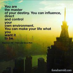 You create your destiny xxx