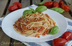 Spaghetti al #pomodoro fresco senza cottura