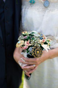 A Bohemian Syle Ethically Produced Wedding Dress For An Eco Friendly Somerset Wedding | Love My Dress® UK Wedding Blog