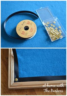 How to make DIY Jewelry Organizer with an old cork board.