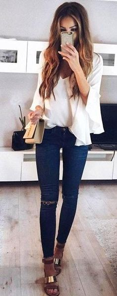 Trendy Summer Outfits For Young Girls 20 Trendy Summer Outfits, Cute Girl Outfits, Edgy Outfits, Fashion Outfits, Formal Outfits, Fashionable Outfits, Diy Mode, Corporate Fashion, Moda Casual