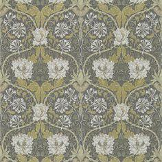 Honeysuckle & Tulip Charcoal/Gold [214701] - 912 SEK : Gyllenhaks Byggnadsvård AB, Kvalitetsvaror för hus och människor