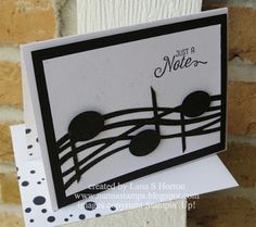 Stampin' with Nanna: I See Music, Part 2