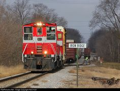 RailPictures.Net Photo: WSOR 1503 Wisconsin & Southern EMD MP15AC at Iron Ridge, Wisconsin by Nick Hart