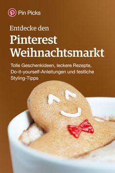 Entdecke den Pinterest Weihnachtsmarkt! Tolle Geschenkideen, leckere Rezepte, Do-it-yourself-Anleitungen und festliche Styling-Tipps!