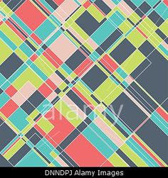 Abstract design background with a geometric pattern. © Kirsty Pargeter / Alamy