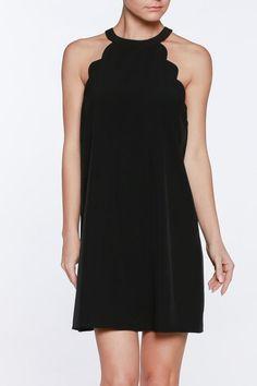 Scallop Aline Dress