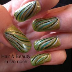 Love these. Hand painted at hair & beauty in Dornoch