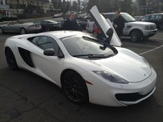 Test drive of the new Mclaren.