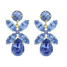 Dione Earrings / Amethyst | Caroline Svedbom Jewelry