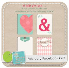 New freebie on my Facebook Page