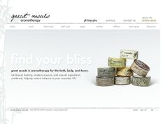 Details of the website as featured within CoolHomepages web design inspiration gallery. Web Design Gallery, Candle Diffuser, Web Design Inspiration, Design Awards, Aromatherapy, Lotion, Cool Designs, Wedding Rings, Mood