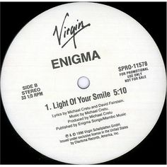 "For Sale - Enigma Beyond The Invisible USA Promo  12"" vinyl single (12 inch record / Maxi-single) - See this and 250,000 other rare & vintage vinyl records, singles, LPs & CDs at http://eil.com"