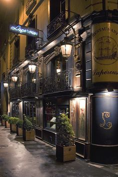 Rita Crane Photography: Paris / historic cafe / Left Bank / architecture / night / lanterns / Restaurant Laperouse, Paris by Rita Crane Photography, Beautiful Paris France, Oh Paris, Paris Night, Paris Winter, Montmartre Paris, Paris Travel, France Travel, Places To Travel, Places To See