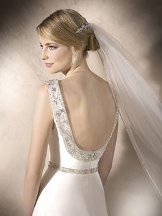 Find Hali (back) Wedding Dress by La Sposa Available in 12 boutiques in Canada: Cache Couture Atelier (Vancouver), Newline Fashions & Bridal (Regina), Superior Bridal (Markham), Avenue 22 Bridal (North York), . La Sposa Wedding Dresses, Elegant Wedding Dress, Allure Bridal, Lillian West, Wedding Name, Couture Details, Dress Backs, Bridal Style, Gowns