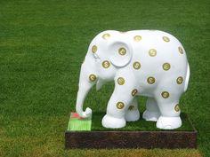 Donation Box Elephant (London Elephant Parade 2010)
