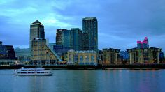 View from Surrey docks, via Flickr.