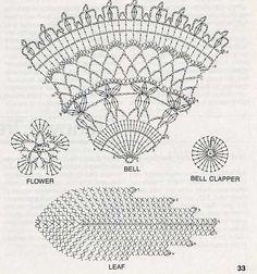 Chrismas bell crochet