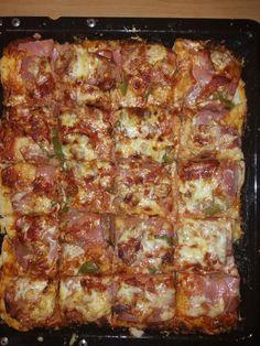 Cookbook Recipes, Pizza Recipes, Cooking Recipes, Healthy Recipes, Pizza Tarts, Greek Recipes, No Cook Meals, Lasagna, Food And Drink