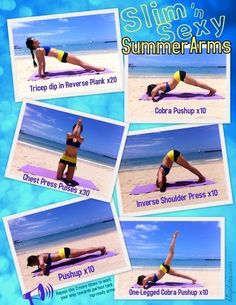 Summer arms workout