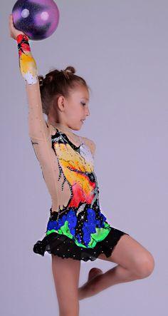 Competition rhythmic gymnastics leotard by AtelieFenix on Etsy €413,30