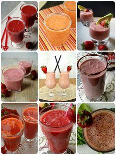 Strawberry smoothies