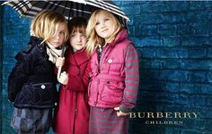 The Burberry Children ads are too adorable for words.