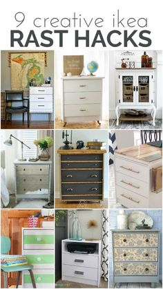 DIY Ikea Furniture Hacks and Painted Furniture Flips