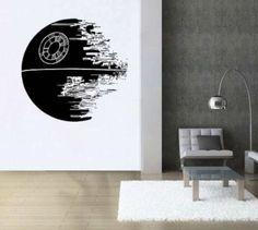Large-Starwars-Death-Star-vinyl-wall-art-decal-sticker-gift-for-star-wars-fan