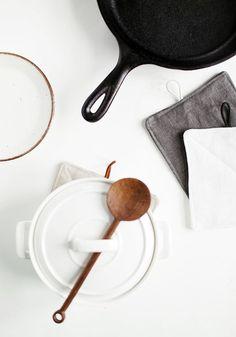 DIY Linen Potholders