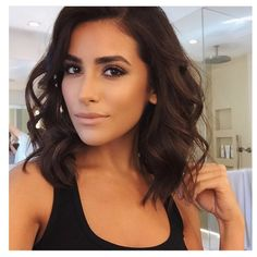 """products I used on Sazan.... @lauramercier """"Silk Cream Moisturizing Foundation"""" @tartecosmetics """"Maracuja Creaseless Concealer""""  @gleam_melaniemills """"Rose Gold powder shimmer on the cheeks"""" @ctilburymakeup """"Cheek To Chic in Ecstasy"""" @stilacosmetics """"Magnificent Metal Eyes in Comex Copper"""" @ardell_lashes """"Individual lashes in Medium and Double Flare Longs"""" @lisewatier """"Lip Liner in Ginger"""" @ctilburymakeup """"Kate Nude lipstick"""""""