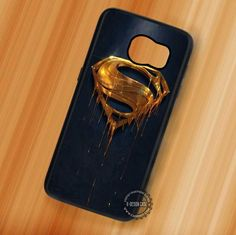 Gold Logo Superman - Samsung Galaxy S7 S6 S5 Note 7 Cases & Covers