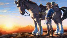 Zelda: Breath of the Wild – official launch art