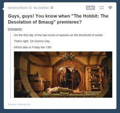 *mind blown* The Hobbit: The Desolation of Smaug premieres Friday, December Lotr, Saga, Portal, Concerning Hobbits, Into The West, Legolas, Thranduil, Jrr Tolkien, Comic