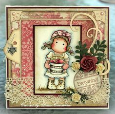 Apple Tilda, Cozy Family Collection, Magnolia stamps