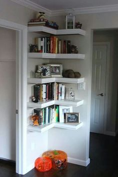 For spaces where you can't put a cabinet. Nice!