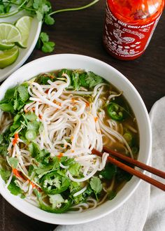 Save those prime rib roast bones and make a delicious Vietnamese-style noodle soup! Leftover prime rib makes a satisfying pho stock and Prime Rib Pho! Prime Rib Soup, Prime Rib Recipe, Prime Rib Roast, Rib Recipes, Asian Recipes, Soup Recipes, Dinner Recipes, Cooking Recipes, Dinner Ideas