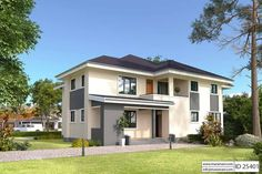 Exclusive 5 Bedroom House Plan with a tasteful facade and has an incredible master bedroom suite fit for a king. Fully detailed architectural drawings available Three Bedroom House Plan, Simple House Plans, Duplex House Plans, Beach House Plans, Luxury House Plans, Dream House Plans, Modern House Plans, Cool House Designs, House Styles